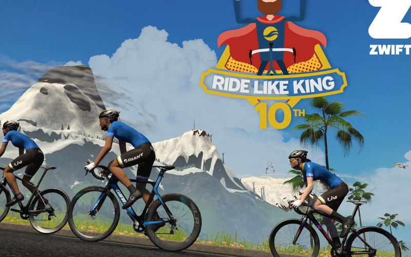 Riders Around the World Invited to Ride Like King on Zwift! | Giant