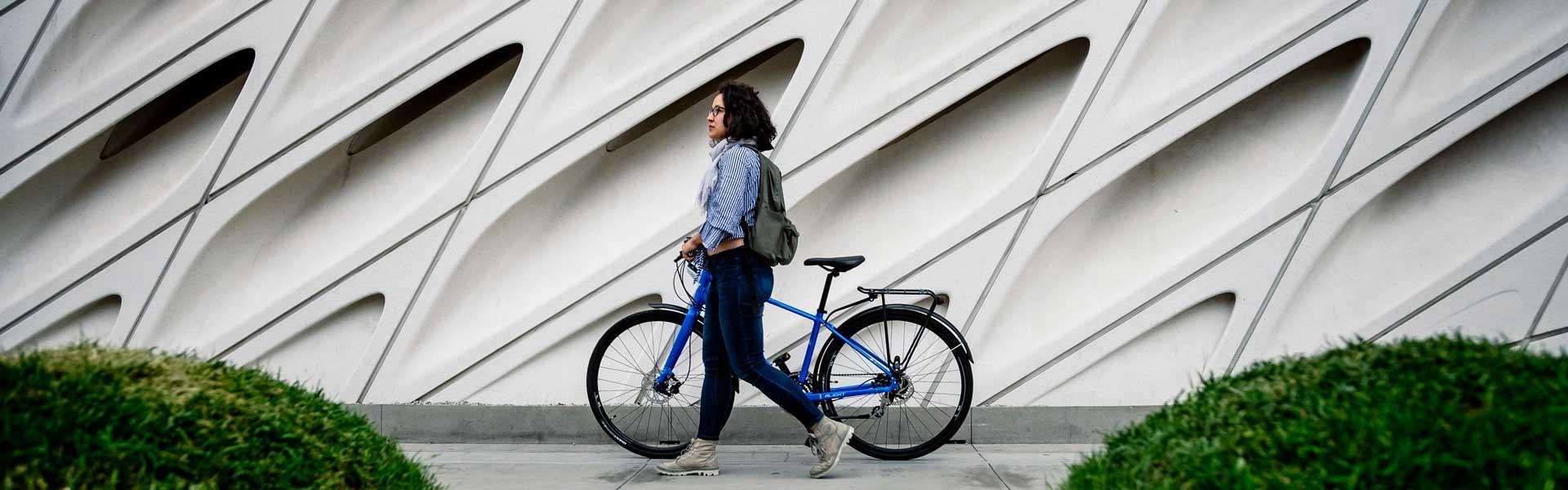 City & Hybrid bikes