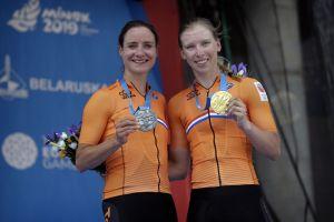 Vos s šprintom po srebrno medaljo v Minsku!