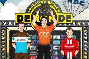 Van Avermaet zwycięzcą wirtualnego wyścigu Tour of Flanders 2020!