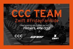 Trenuj razem z CCC Team na Zwift!