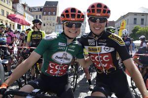 Močan cilj za ekipo CCC-Liv na turneji Thüringen Ladies Tour!