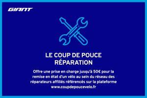Coup de Pouce Réparation - Jusqu'à 50€ pris en charge