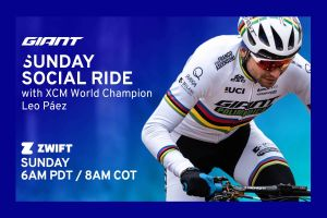 Ride With MTB Marathon World Champ Leo Páez on Zwift!