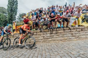 Van Avermaet Scores KOM Jersey at Tour de France Opener!