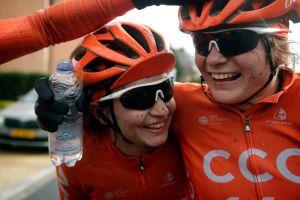 CCC-Liv Riderke na stopničkah na Nationals!