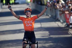 Vos Wins First Stage of the Tour de l'Ardèche!