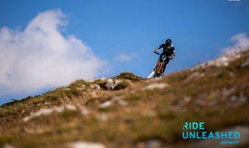 Enduro Mountain Bike Rider