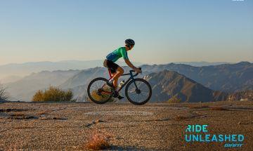 cyclist on TCR Advanced Pro Disc