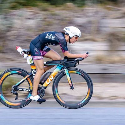 Radka Kahlefeldt finished third in Melbourne aboard her Avow Advanced Pro. Witsup Photo.