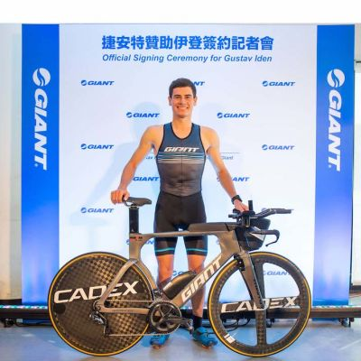 Iden, the recently crowned Ironman 70.3 world champion, will race and train on Giant Trinity triathlon bikes with CADEX WheelSystems and tires.