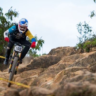 Gutierrez has consistently been the best men's DH racer in Colombia for more than a decade, winning 4 straight Colombia National Games over the past 11 years.