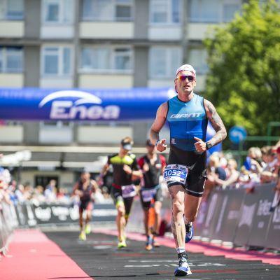 Marek na finiszu Enea Warsaw 5150