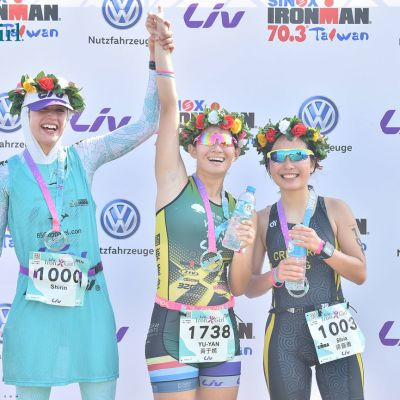 Liv triathlete Shirin Gerami traveled from London to race the Liv Iron Girl Triathlon, finishing an impressive second overall. Just ahead of her, local triathlete sponsored by Liv Taiwan, Huang Yu Yan finished first.