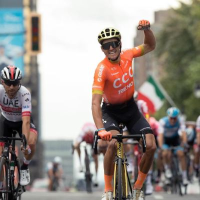 Van Avermaet was consistently at the front of the field in the biggest one-day WorldTour races, and he scored the win at the GP de Montréal in September. Cor Vos photo.