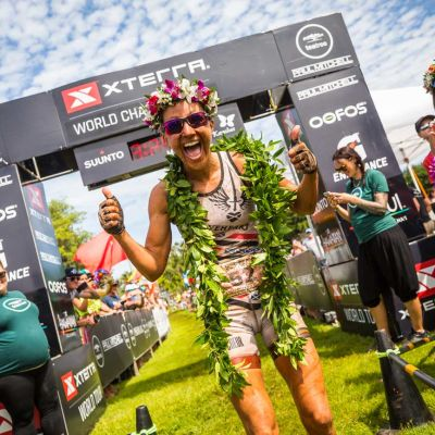 Liv athlete Lesley Paterson won her fifth off-road triathlon World Championship title on Sunday, October 28, 2018 in Maui. Jesse Peters/XTERRA photo.