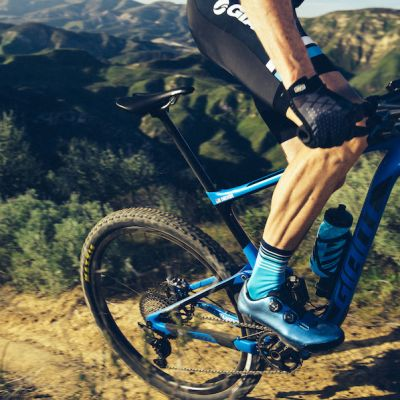 The new Charge Pro gives XC and gravel riders the power to hammer up steep, technical climbs and also maintain stability and control on technical terrain.