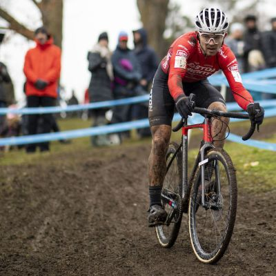 Van den Ham came from behind to win his third consecutive elite men's national title in Canada. Nick Iwanyshyn photo
