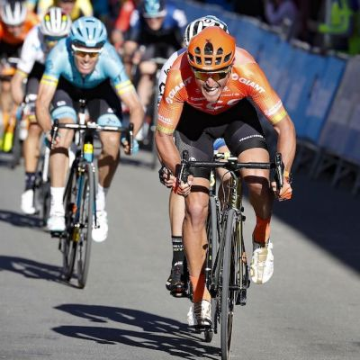 Van Avermaet topped a strong group of contenders at the line to earn his first win of the 2019 season. Cor Vos photo.