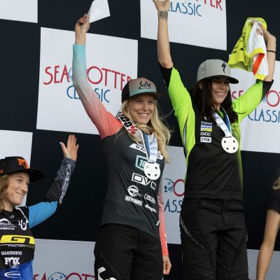 Morrison had a strong showing with podium finishes in both the enduro and DH events. JPOV Photo