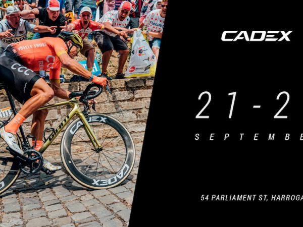 CADEX POP-UP AT ROAD WORLDS