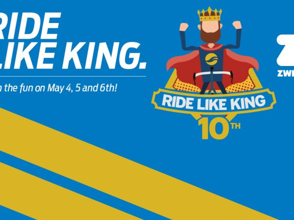 Celebrate Giant's 10th Annual Ride Like King Event May 4-6!