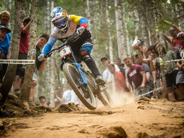 Gutierrez Lands Two Top-10 Finishes at Crankworx!