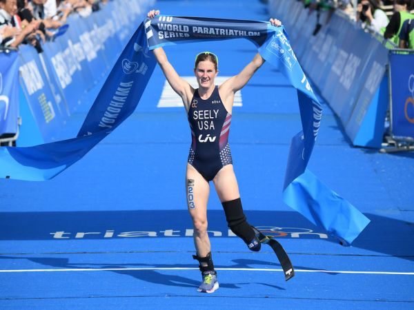 Seely Scores Silver Medal at Paratriathlon World Championships!
