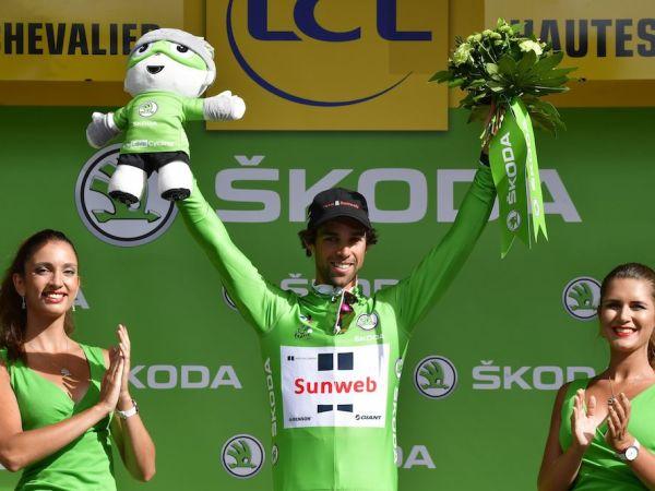 Matthews Moves Into Tour de France Points Lead!