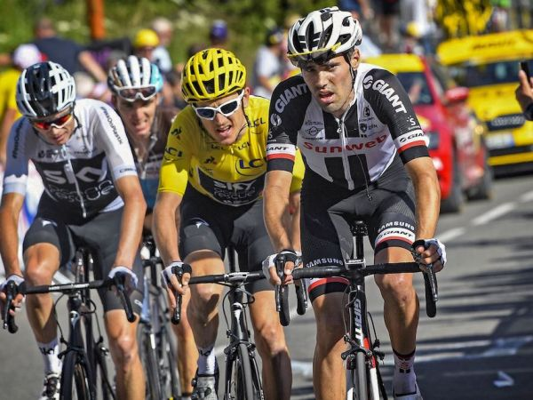 Dumoulin Again Magnificent in the Alps, 2nd at Alpe d'huez!