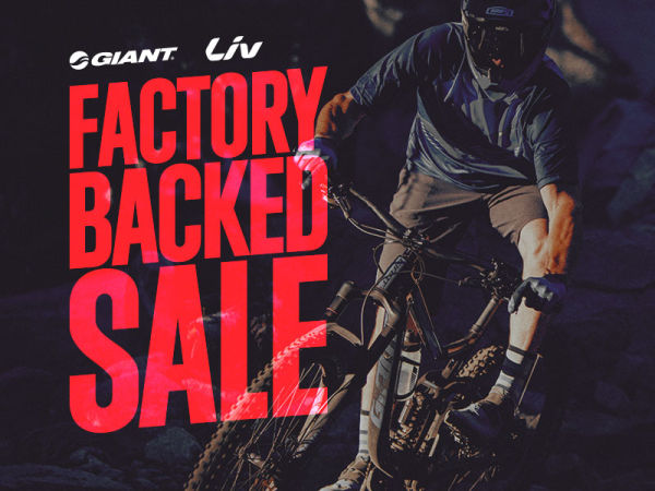 Factory Backed Sale Now On!