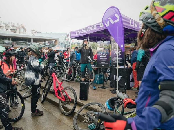 Liv Women's A-Line Session at Crankworx Celebrates 7 Years of Sending ...