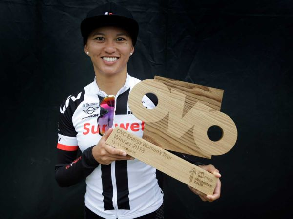 Coryn rivera gana el OVO Energy Women´s Tour
