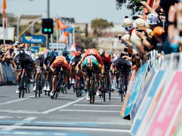 Mareczko Sprints to Podium at Tour Down Under Opener!