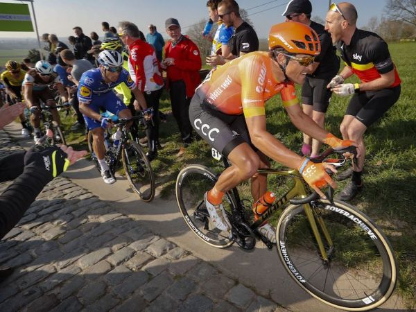 Van Avermaet Keeps the Podiums Coming as Classics Season Heats Up!