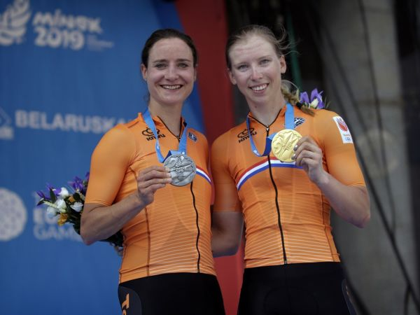 Vos Sprints to Silver Medal in Minsk!
