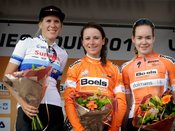 Ellen van Dijk Second at Boels Ladies Tour