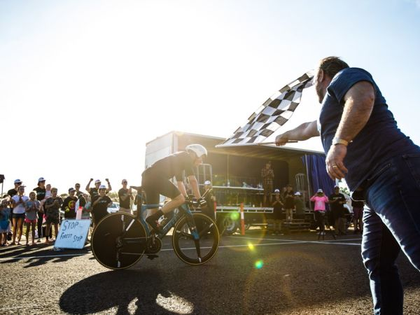 Mitch Anderson breaks 24 hour World Record!