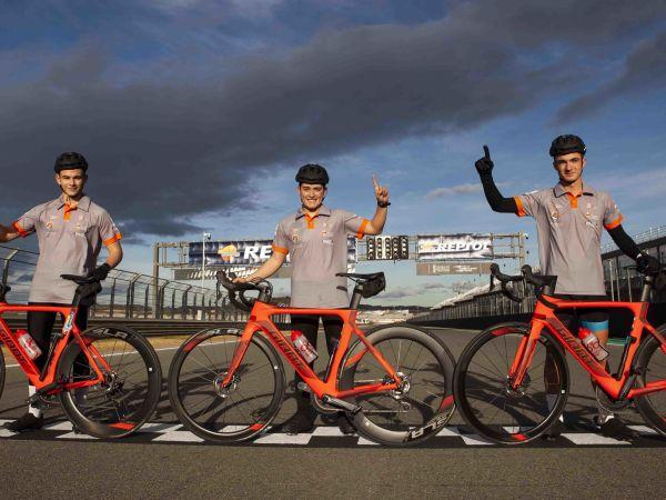 Todo preparado para la XIV edición del Campus de ciclismo Eduardo Choz...