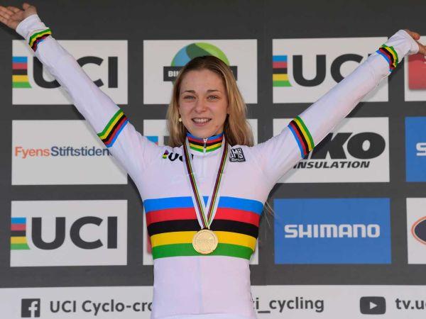 Inge Van Der Heijden remporte les championnats du Monde de cyclocross ...