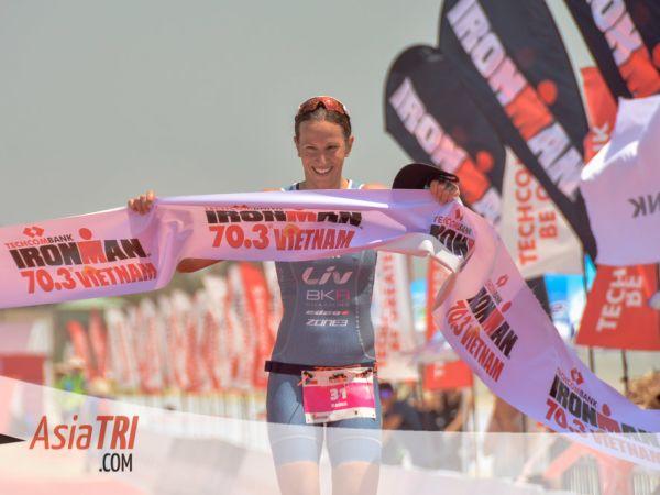 Radka Kahlefeldt Wins Ironman 70.3 Vietnam!