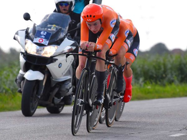 Riejanne Markus Earns Gold with Team Netherlands in Mixed Team Time Trial!