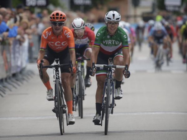 Vos Sprints to Podium at Postnord V...