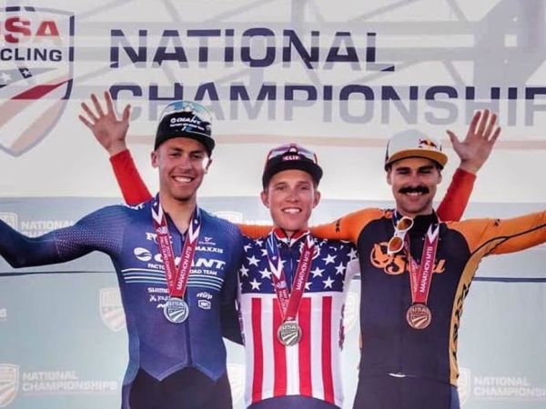 Davoust Scores Silver at USA Mountain Bike Nationals!
