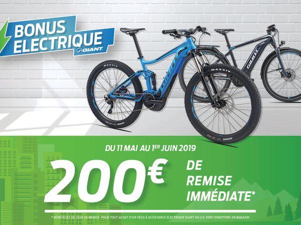 Bonus Electrique Giant 2019 !