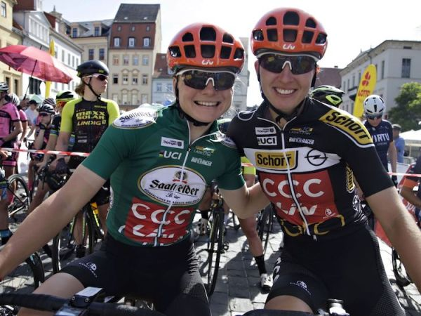 Strong Finish for CCC-Liv Team at Thüringen Ladies Tour!