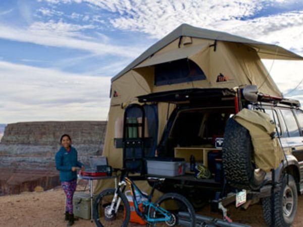 6 consejos para acampar en bicicleta con bajo presupuesto