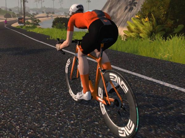Virtually Stoked: Racing the Haute Route on Zwift