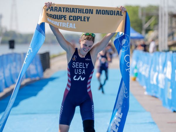 Allysa Seely, 월드 파라트라이애슬론 몬트리올 우승!