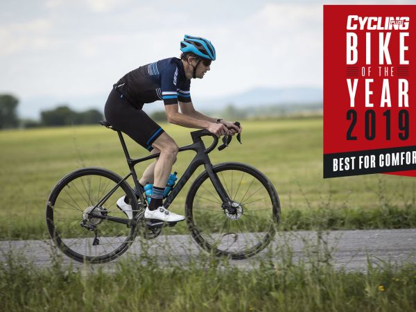 "Defy Advanced Pro wint Cycling Plus Bike of the Year ""Comfort"" categor..."